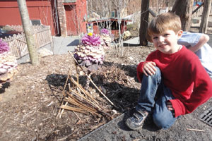 art kids and outdoor learning